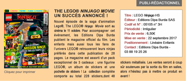 The LEGO NINJAGO movie, un succès annoncé !