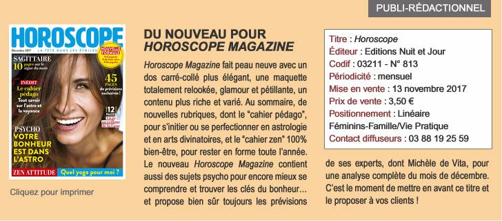 Du nouveau pour Horoscope Magazine