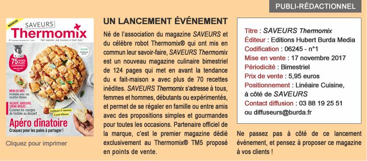 SAVEURS THERMOMIX, un lancement événement
