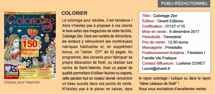 Coloriage Zen - Le coloriage pour adultes, c'est tendance !