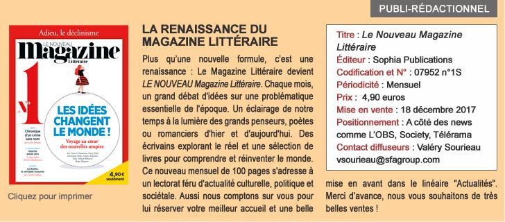 La renaissance du magazine littéraire