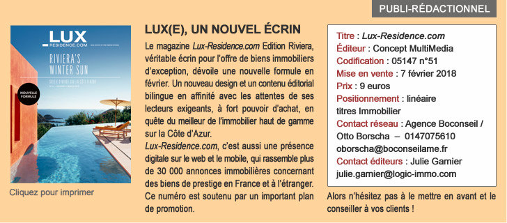 Lux(e) - Un nouvel écrin