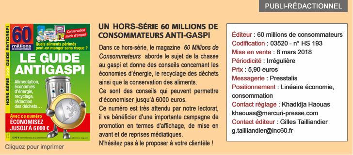 60 Millions de consommateurs HORS SERIE