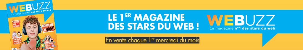 Webuzz - Le 1er magazine de stars du web / En vente chaque 1er mercredi du mois